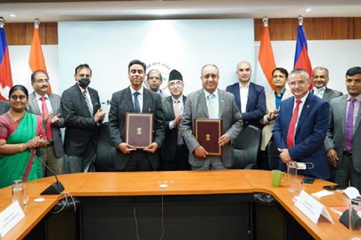 रक्सोल–काठमाडौं रेलवे निर्माणका लागि नेपाल र भारतबीच समझदारी पत्रमा हस्ताक्षर