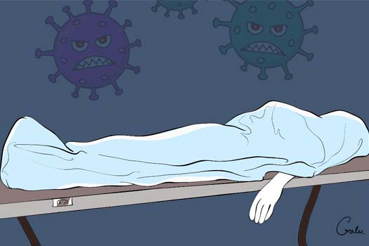 बाँकेमा कोरोना संक्रमणबाट एक महिलाको मृत्यु
