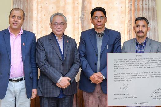 सरकार र विप्लबीच ३ बुँदे सहमतिमा हस्ताक्षर