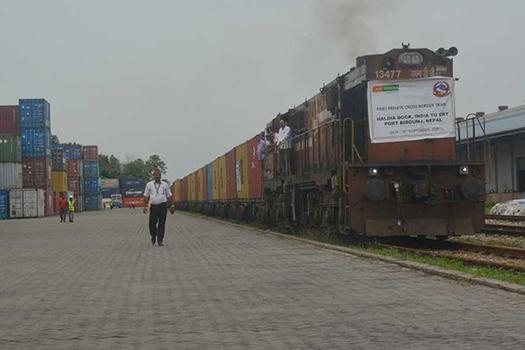 नेपालको सामान ढुवानीमा भारतीय रेल कम्पनीको एकाधिकार तोडियो