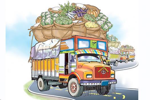 विषादी नजाँची भारतीय तरकारी आयात