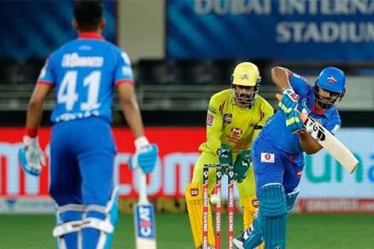 आईपीएलमा दिल्लीको लगातार दोस्रो जित, चेन्नई ४४ रनले पराजित