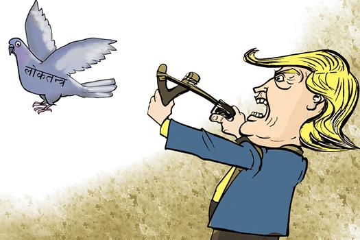 लोकतन्त्रले तानाशाहबाट कसरी आफूलाई जोगाउँछ?