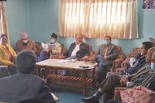 माओवादी केन्द्रले बोलायो स्थायी समिति बैठक, सरकारलाई दिएको समर्थन फिर्ता लिने