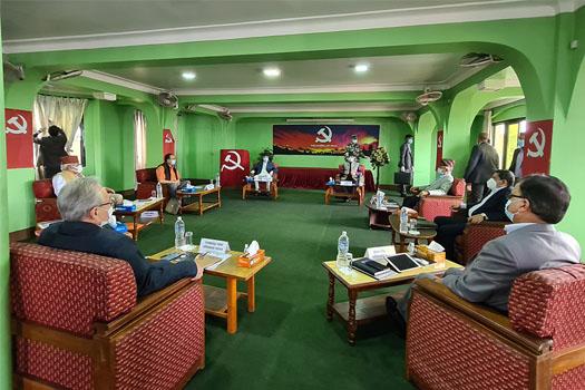 नेकपा सचिवालयमा मन्त्रिपरिषद् पुनर्गठनबारे छलफल
