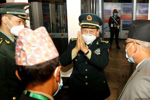 नेपाली पक्षसँग भएका कुराबारे यसो भन्छ चिनियाँ रक्षा मन्त्रालय