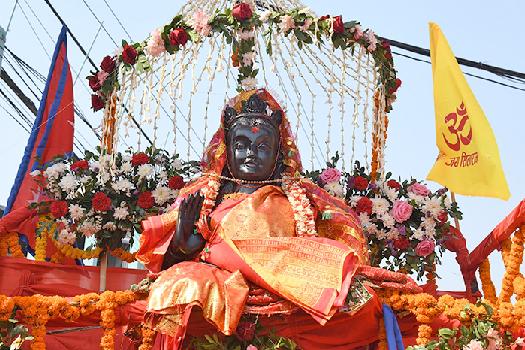 आज रामनवमी, अयोध्यापुरीमा राम-सीताका मूर्ति प्रतिस्थापन गरिँदै