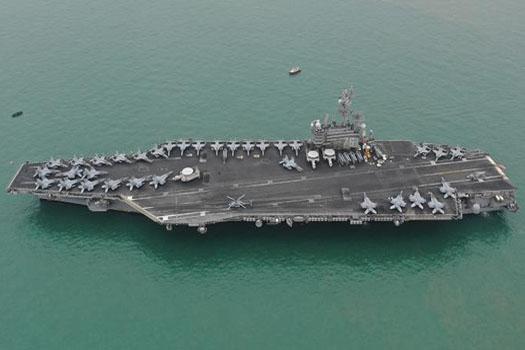 दक्षिण चीन सागरमा अमेरिकाले पठायो युद्धपोत, चीनसँग भिडन्तको सम्भावना