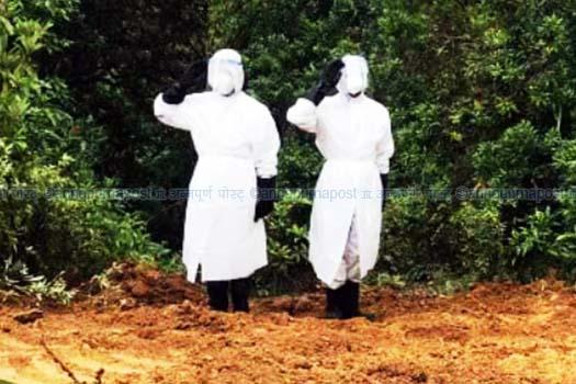 पोखरामा कोरोनाबाट ६२ वर्षीय पुरुषको मृत्यु