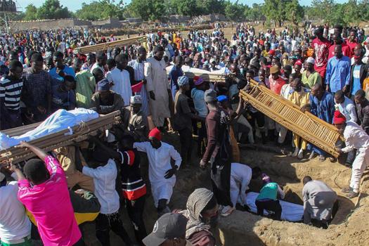 नाइजेरियामा सशस्त्र समूहको भीषण हमलाः ११० किसान मारिए
