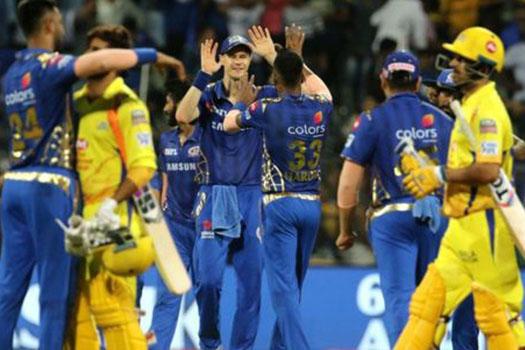 चेन्नई सुपर किंग्सको लज्जास्पद हार, मुम्बई इण्डियन्स १० विकेटले विजयी