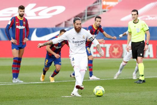 एल क्लासिको : बार्सिलोनालाई ३-१ ले हराउँदै रियल म्याड्रिड शीर्ष स्थानमा