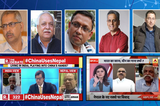 भारतीय मिडियाको एकोहोरो प्रलाप : के भन्छन् नेपालका सम्पादकहरु ?